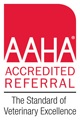 AAHA Accredited Referral badge